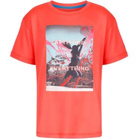 Regatta Alvarado III T-Shirt Kids Neon Peach